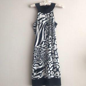 Chic animal print dress